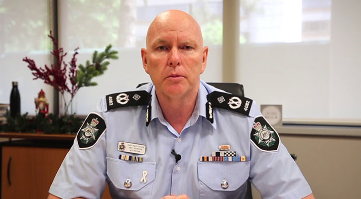 ACT Chief Police Ray Johnson comments on cannabis legalisation