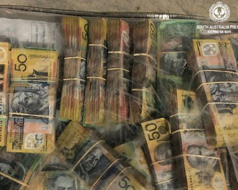 Cannabis cash seized by SA Police