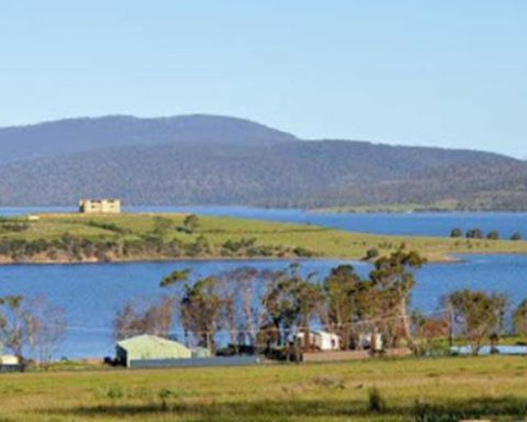 Dunalley is usually a quite town in Tasmania