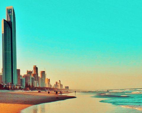 Beach in Queensland
