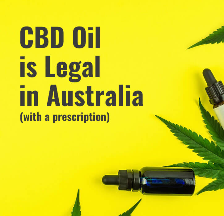 Legal status of CBD oil in Australia