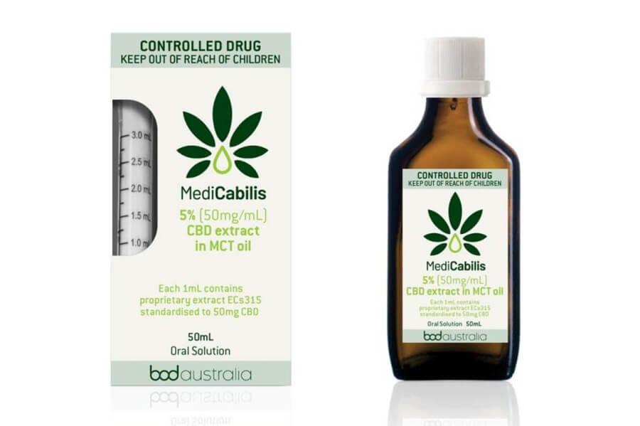 MediCabilis a BOD Australia CBD product