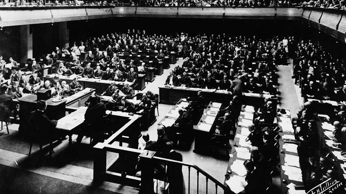 An early photo of the League of Nations