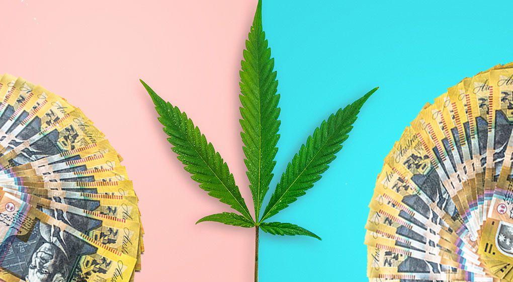 Cannabis tax and Australian money