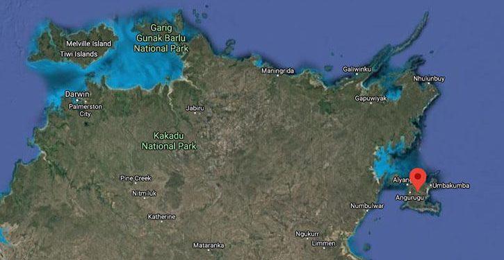 Recent cannabis trafficking bust location in Australia
