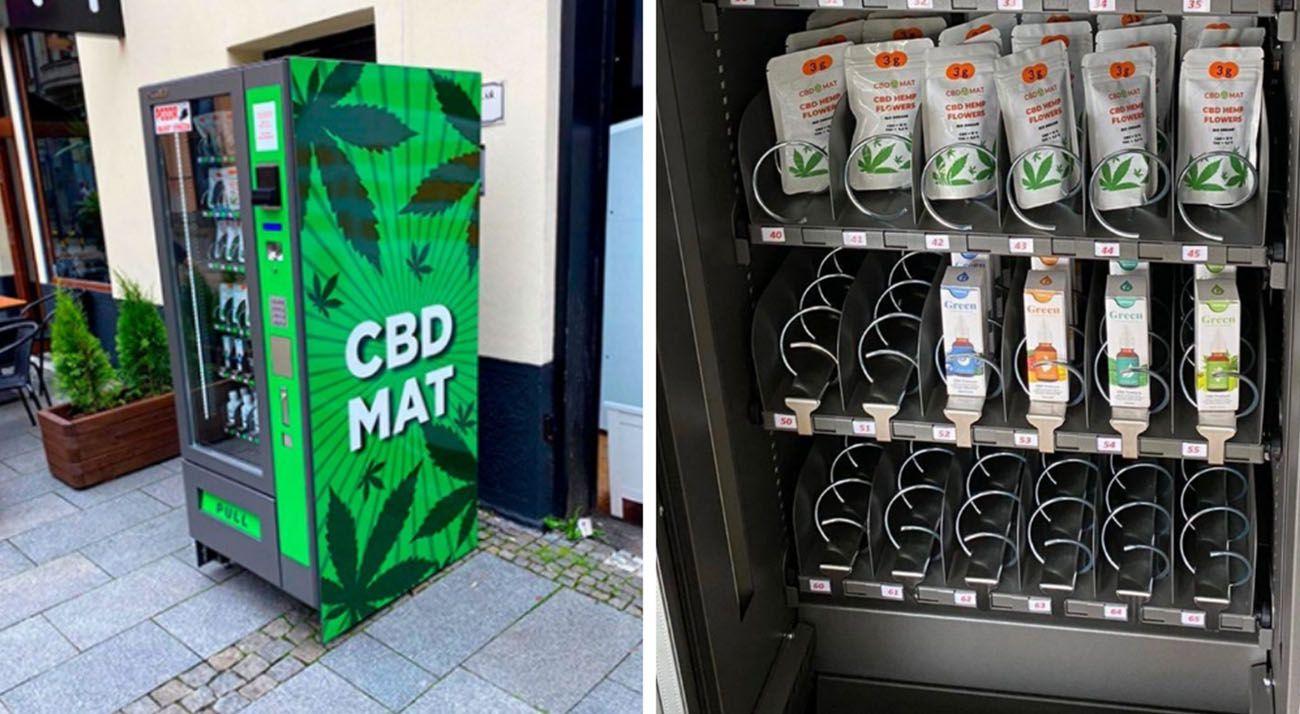 CBD vending machines in Prague