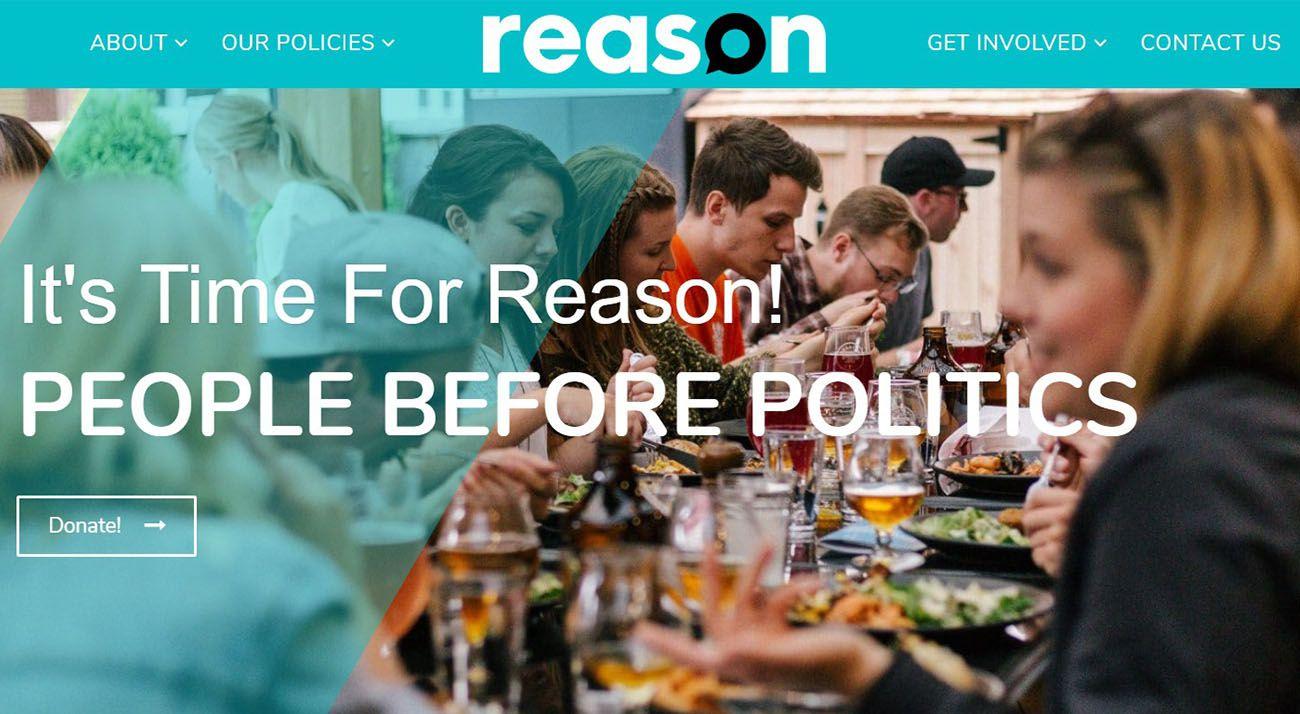 Reason Party website