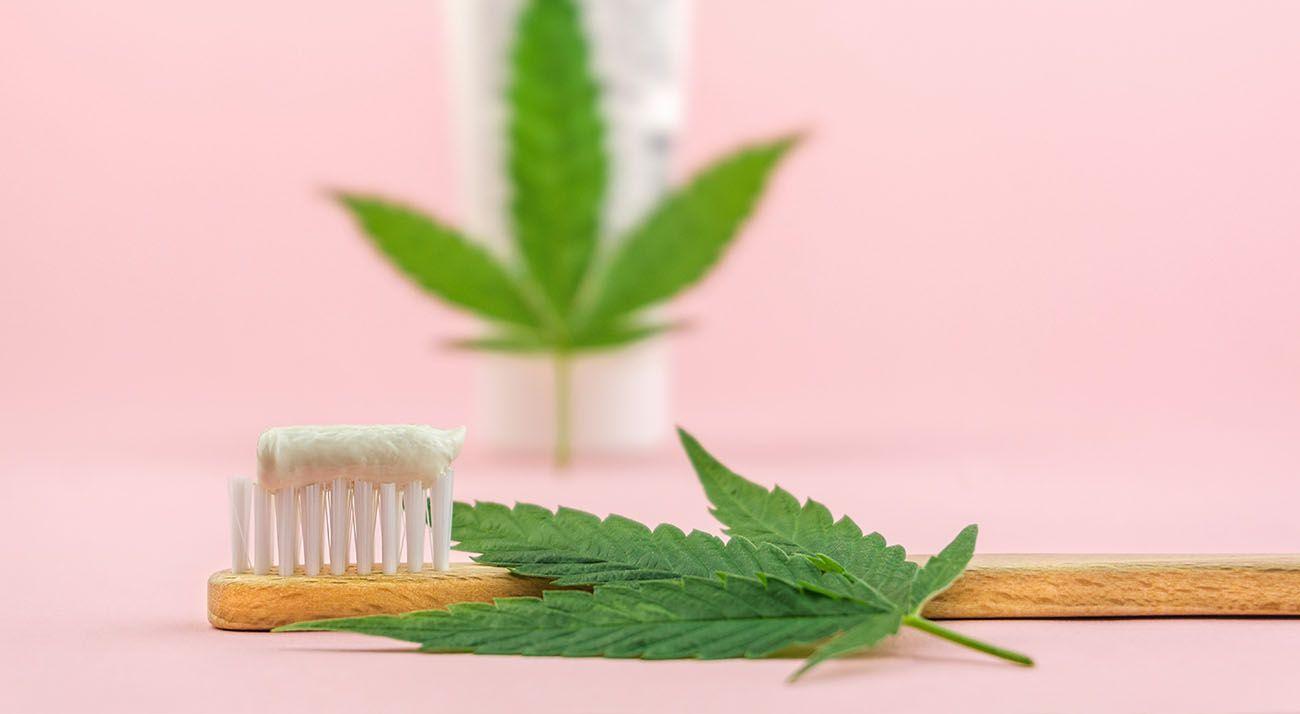 Cannabis toothpaste