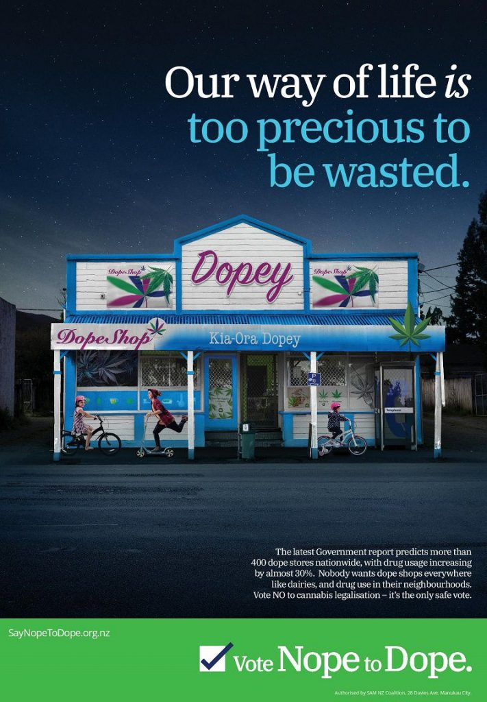 Say No To Dope Campaign Poster
