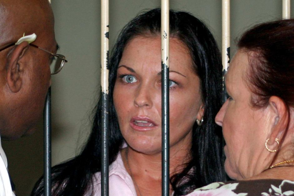 Schapelle Corby behind bars