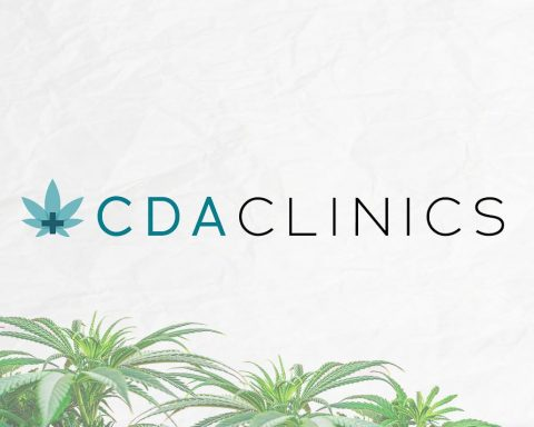 Cannabis Doctors Australia logo white background cannabis