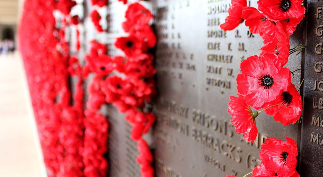 Anzac memorial for Australian veterans