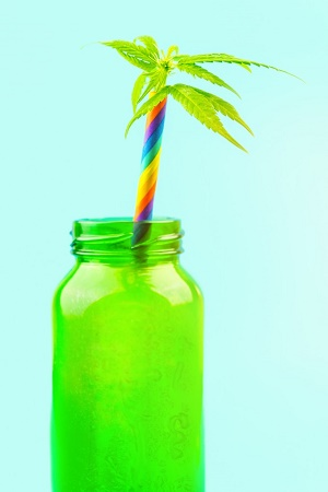 Cannabis infused beverage