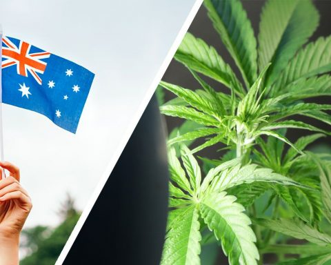 Australian flag cannabis legalisation