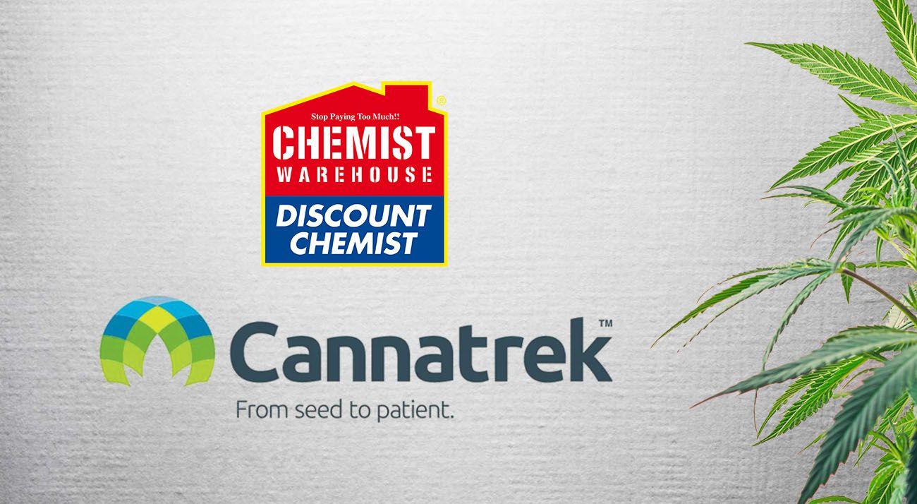 Chemist Warehousee and Cannatrek Partnership