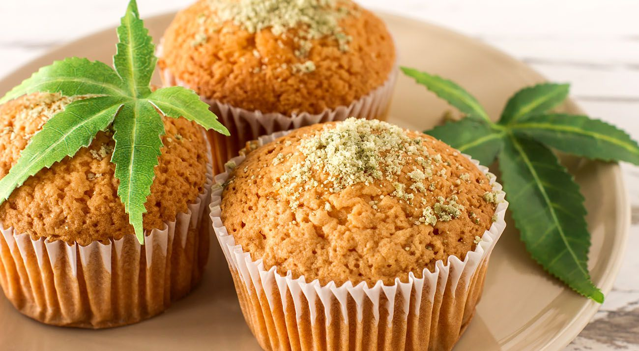 Cannabis and cup cakes