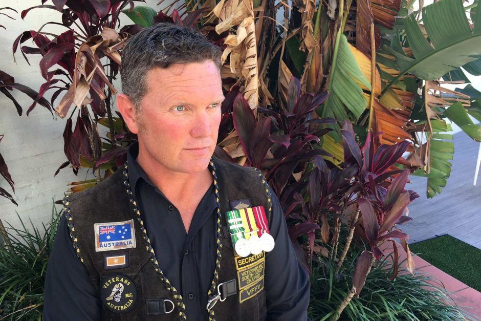 Australian Veteran Derek Pyrah
