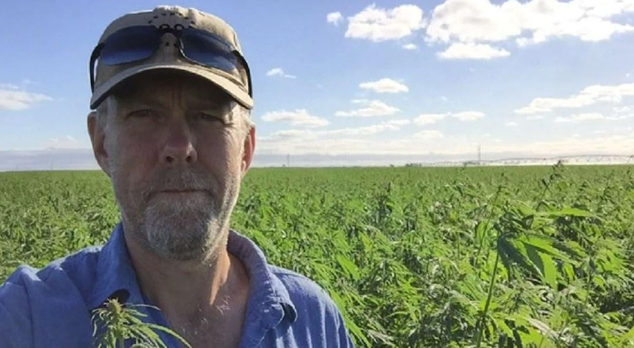 Mick Anderson of Good Country Hemp in Australia