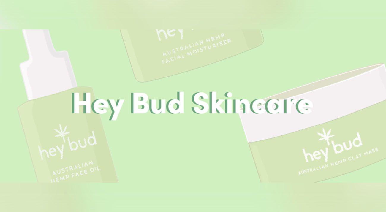 Hey Bud Skincare Brand Logo