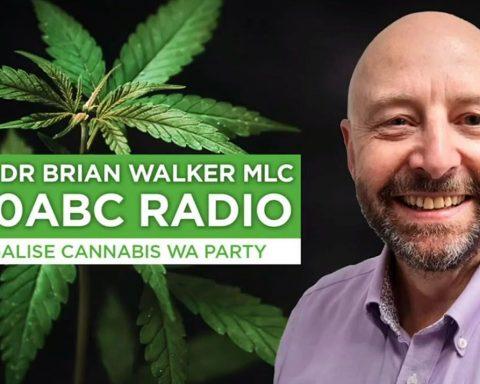 Legalise Cannabis WA MP Brian Walker ABC radio interview